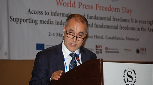 كلمة عبد الله البقالي في اليوم العالمي للصحافة