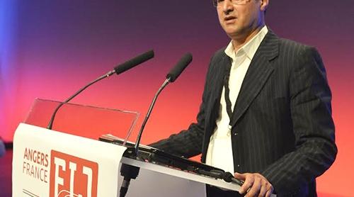 إنتخاب يونس مجاهد نائبا أولا لرئيس الفيدرالية الدولية للصحافيين