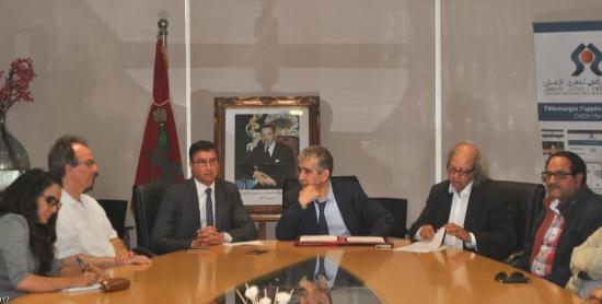 التوقيع الرسمي في المغرب على إعلان حرية الاعلام