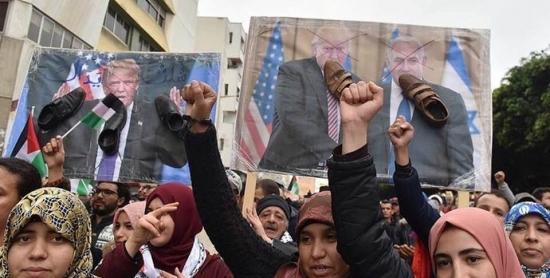 بلاغ حول تطورات القضية الفلسطينية