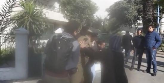 إدانة الاعتداء على الصحافي عبدالإله الشبل من طرف القوات المساعدة